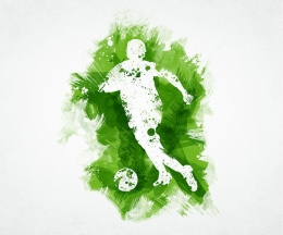 gallery/soccer-player-digital-art-aged-pixel-abstract-soccer-art
